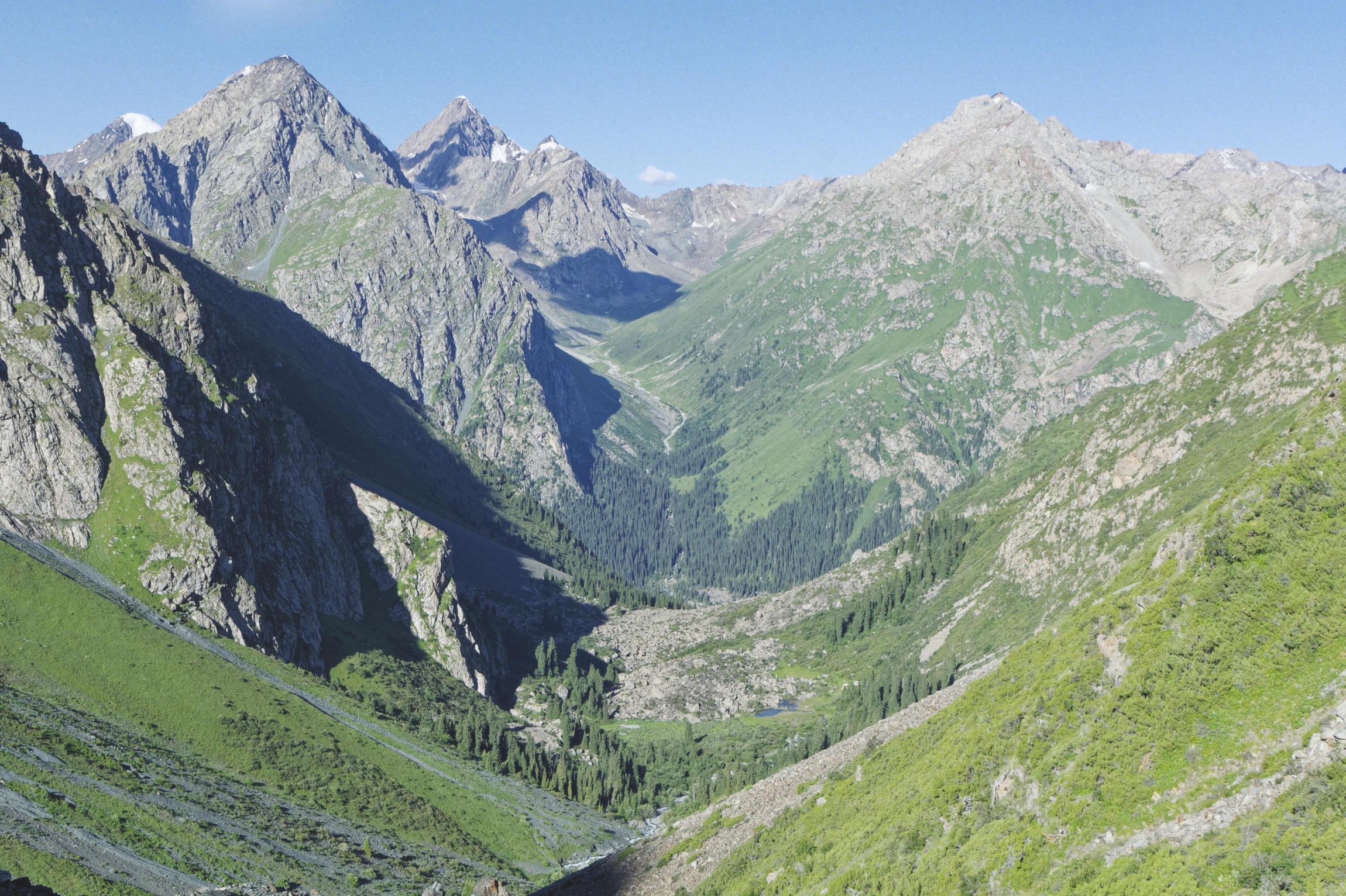 Vallée de Karakol Kirghizstan