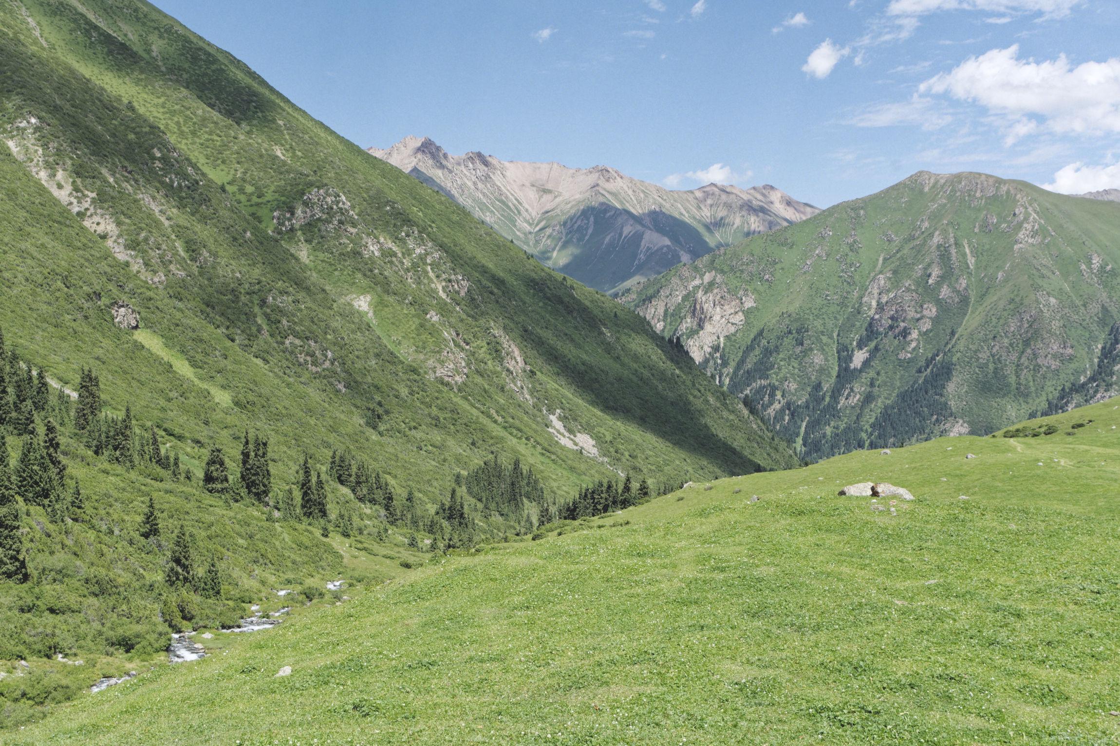 Alpage trek d'Ala Kul Kirghizstan