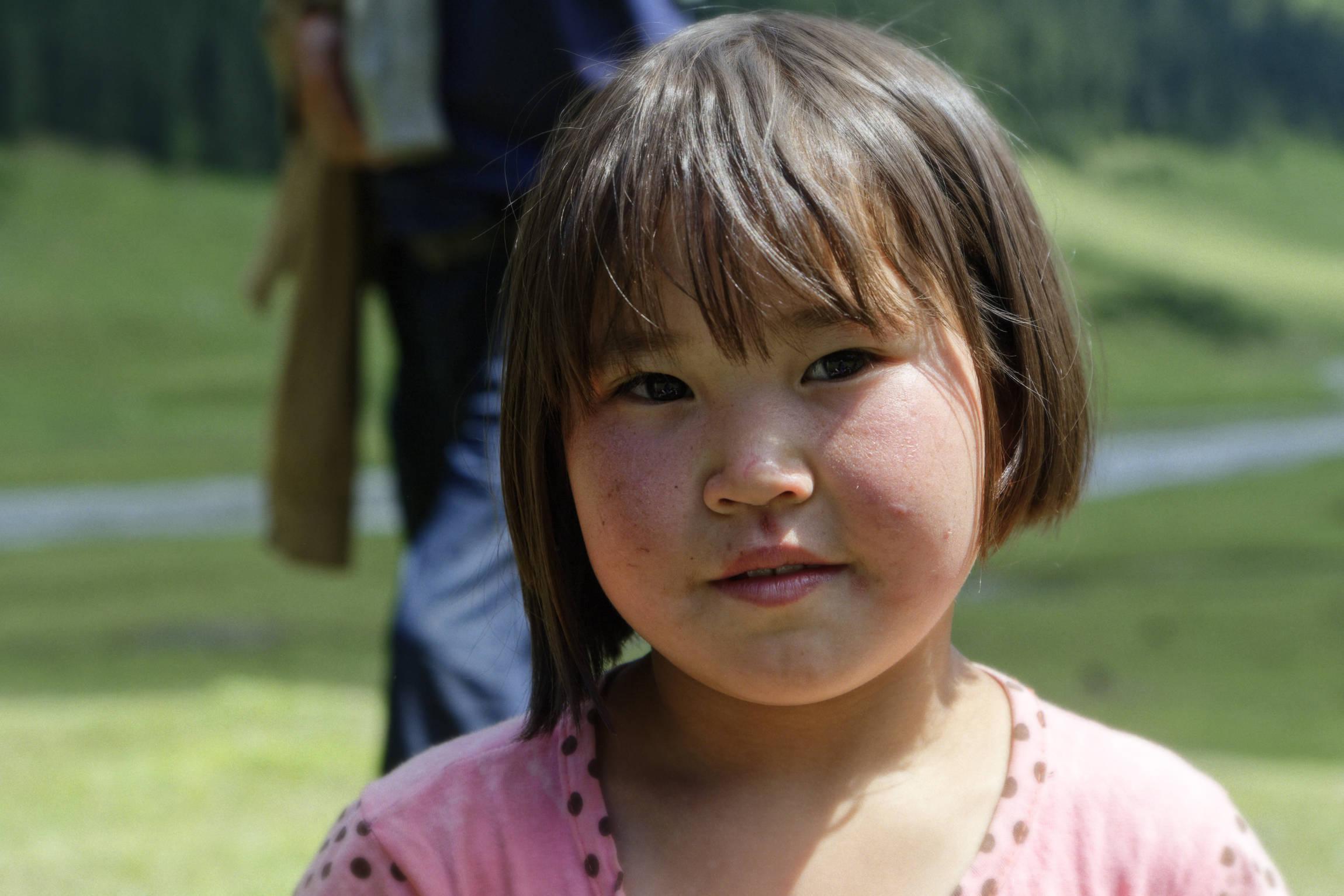 Petite fille kirghize