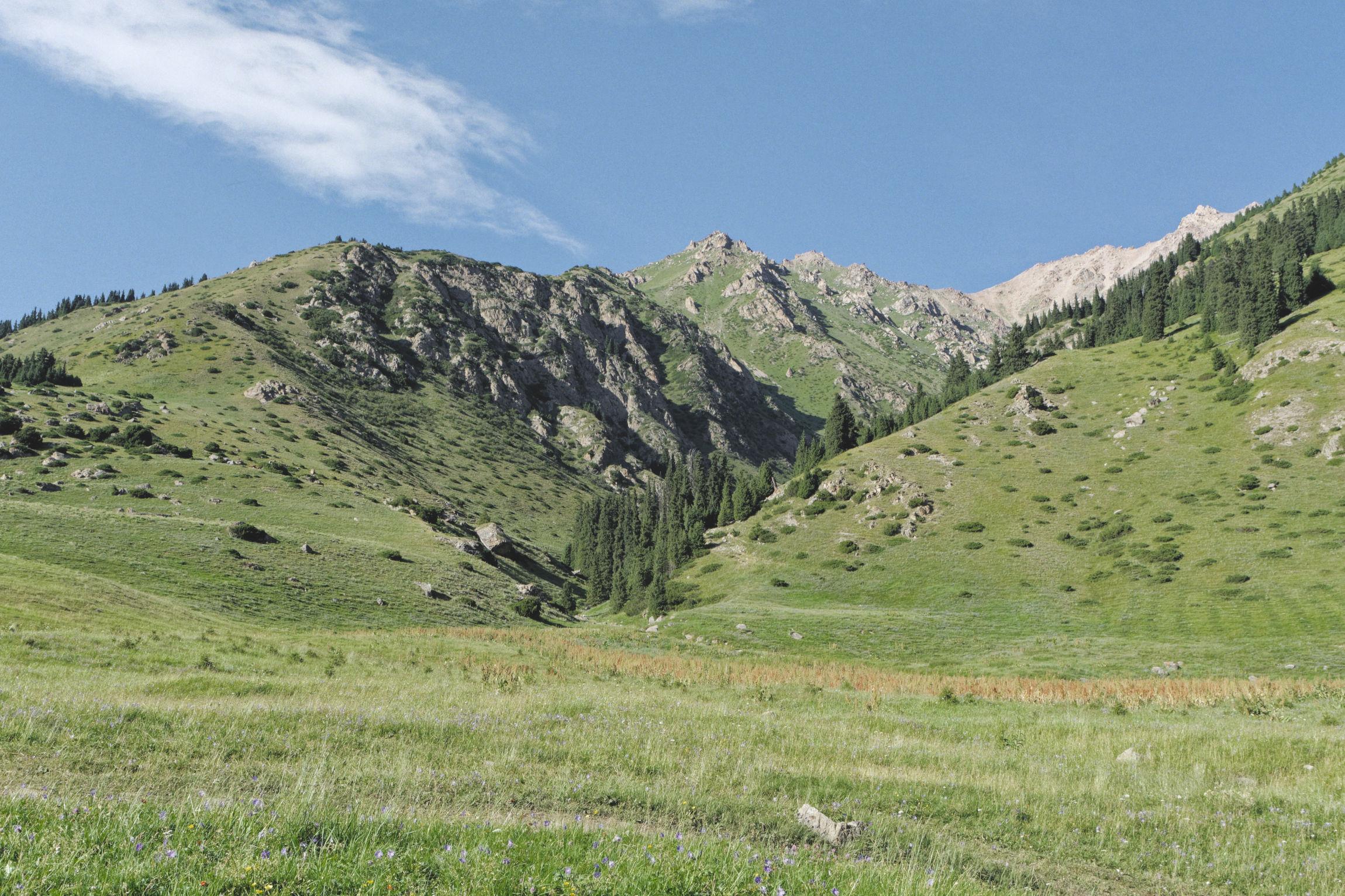 Alpage Altyn Arashan Kirghizstan