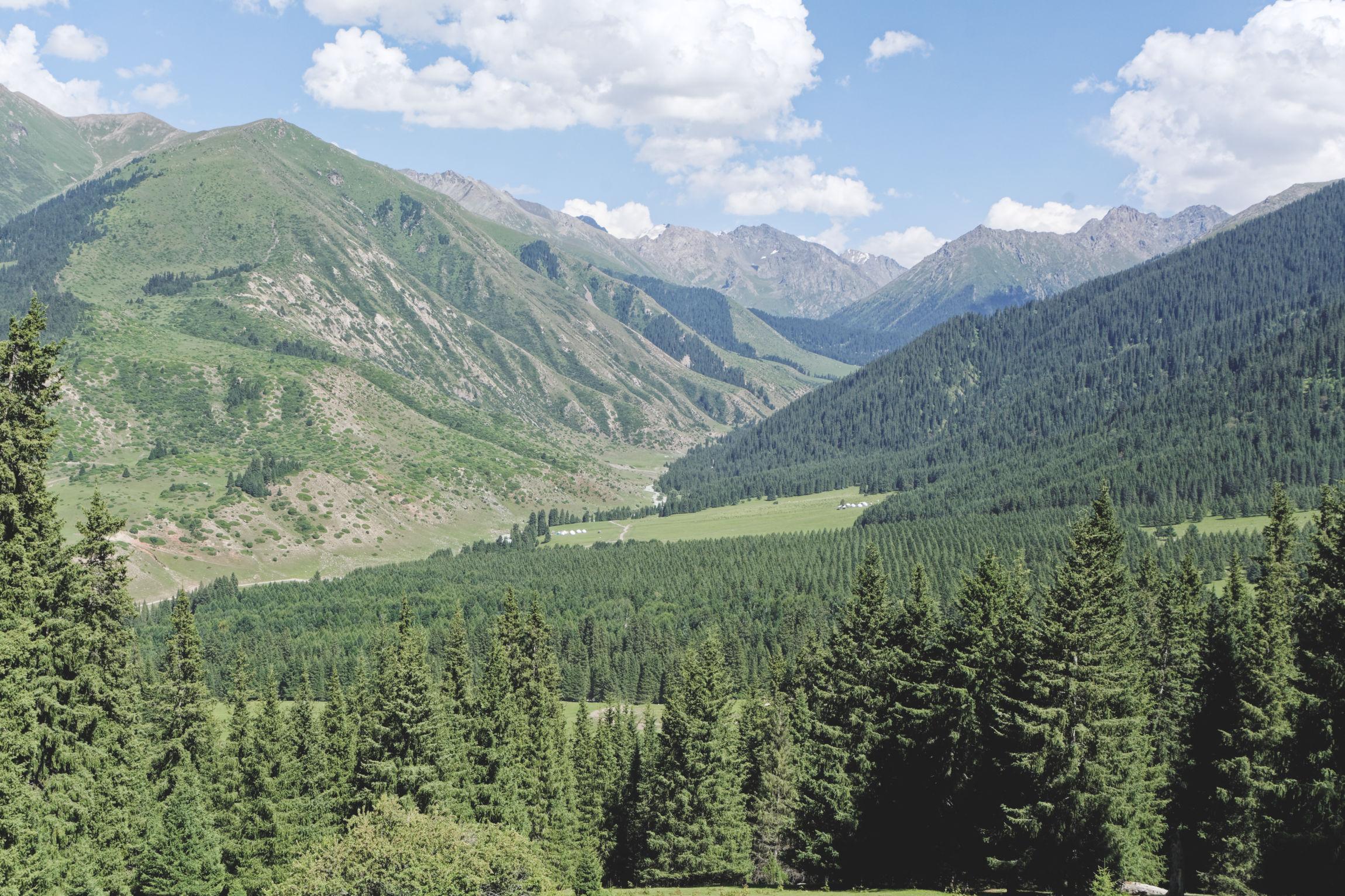 Vallée de Kok Jaiyk Jeti Ögüz Kirghizstan