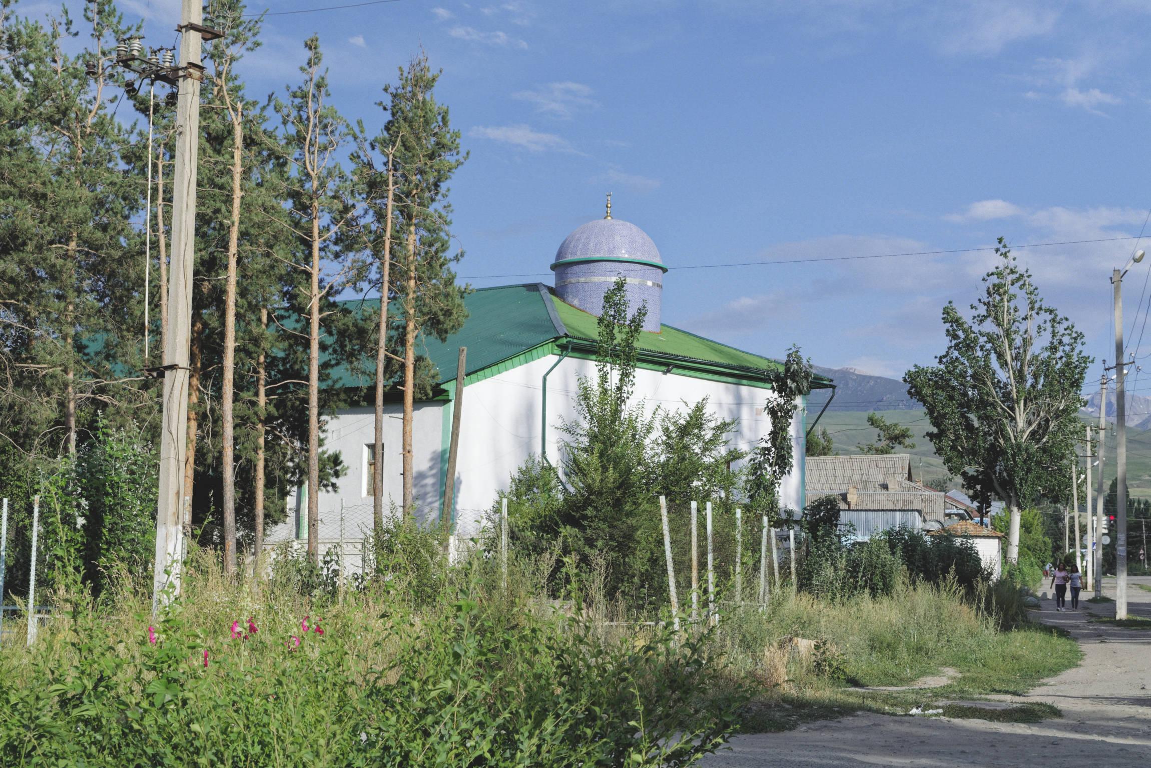 Mosquée tatare Karakol Kirghizstan