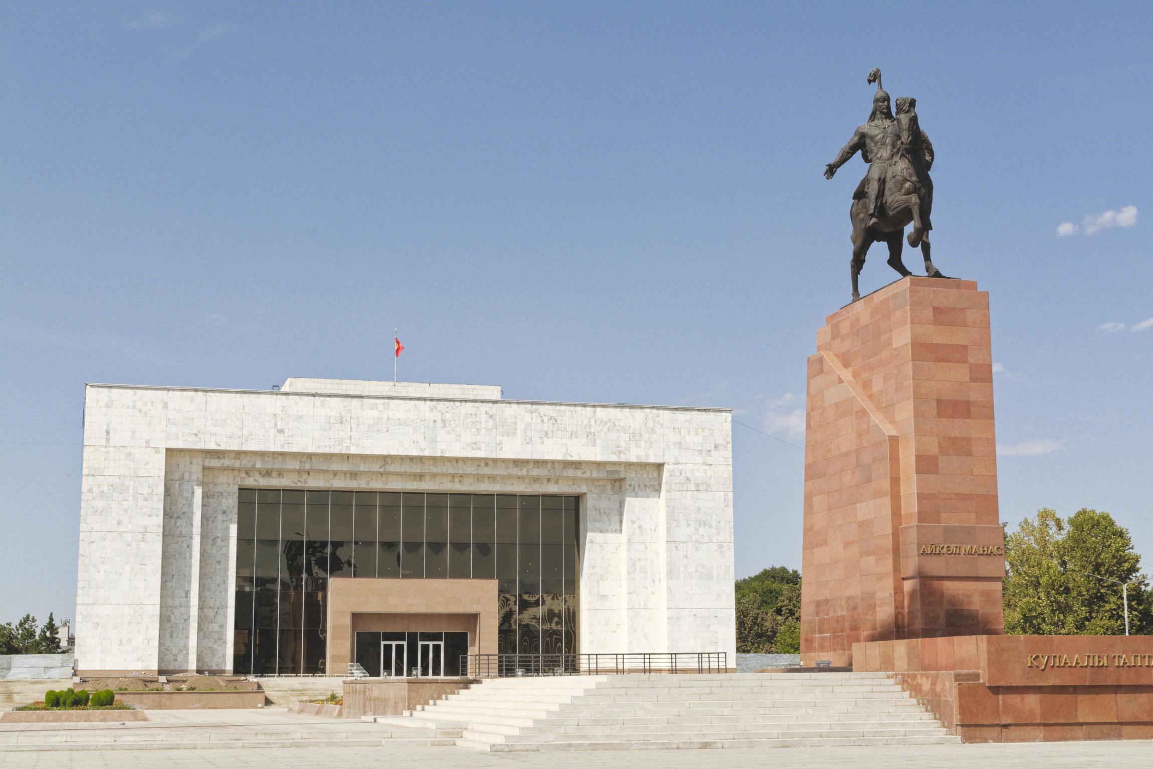 Dans les rues de Bichkek