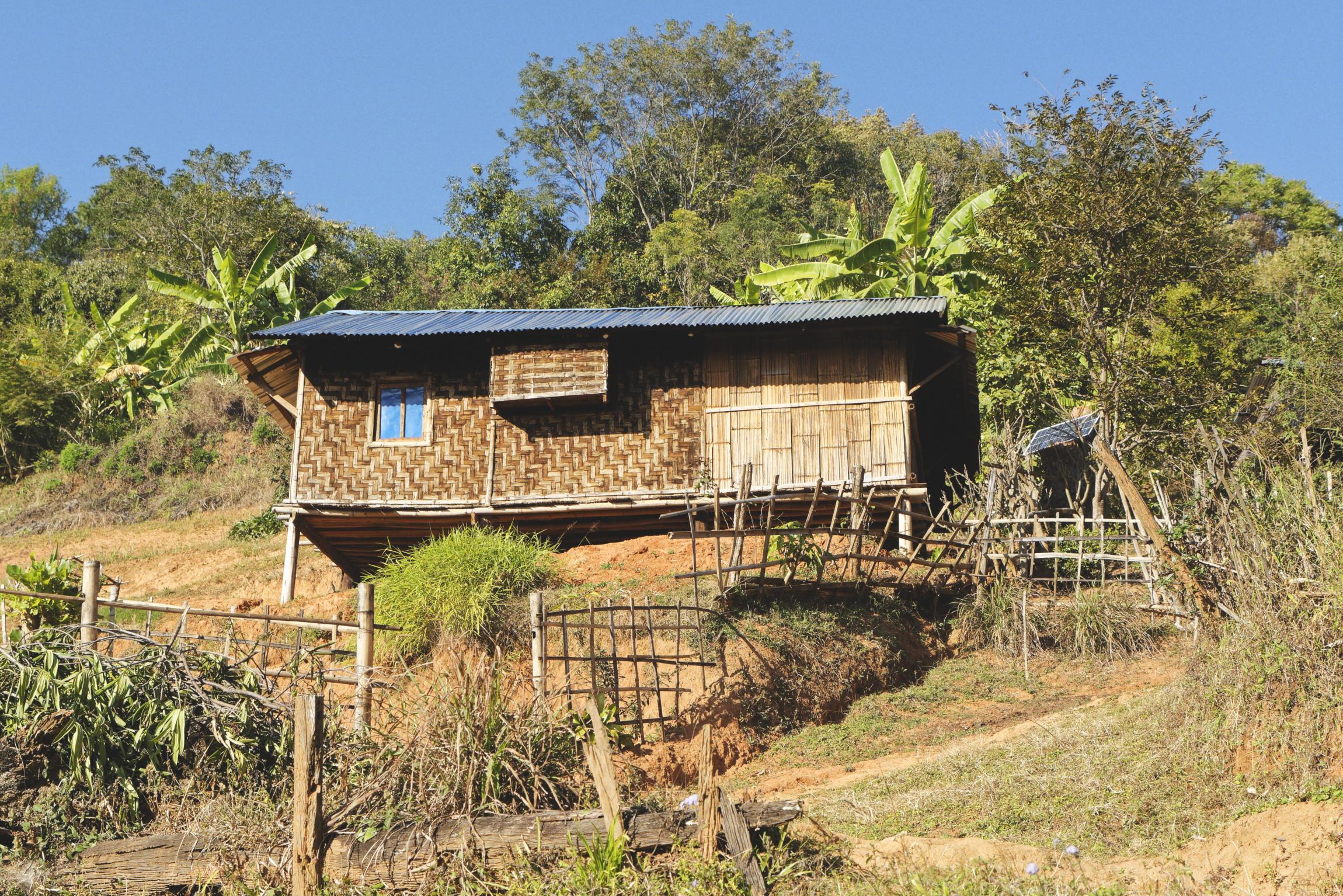 Village palaung région de Hsipaw