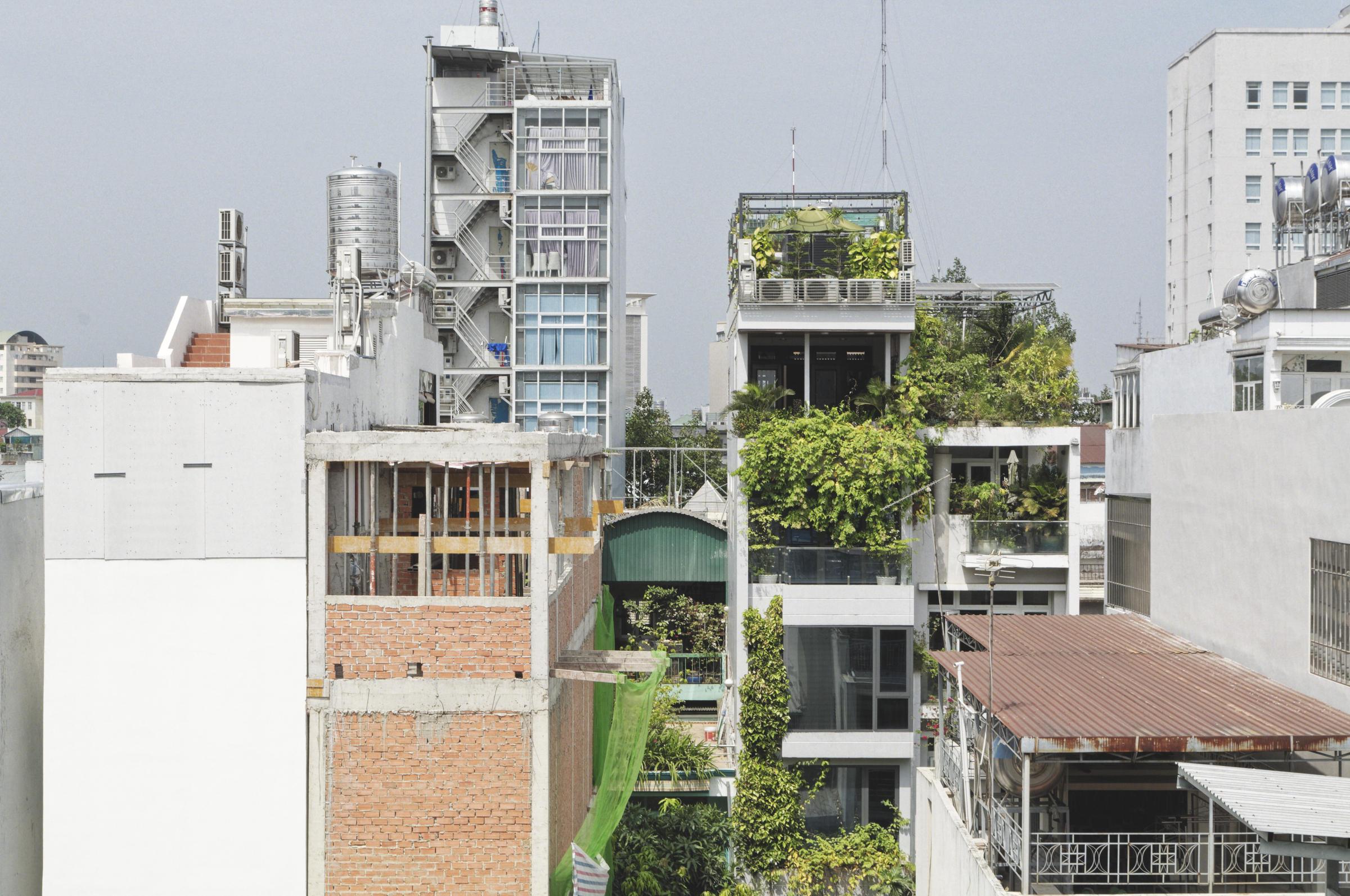 Quartier d'habitations Hô Chi Minh Ville Saigon