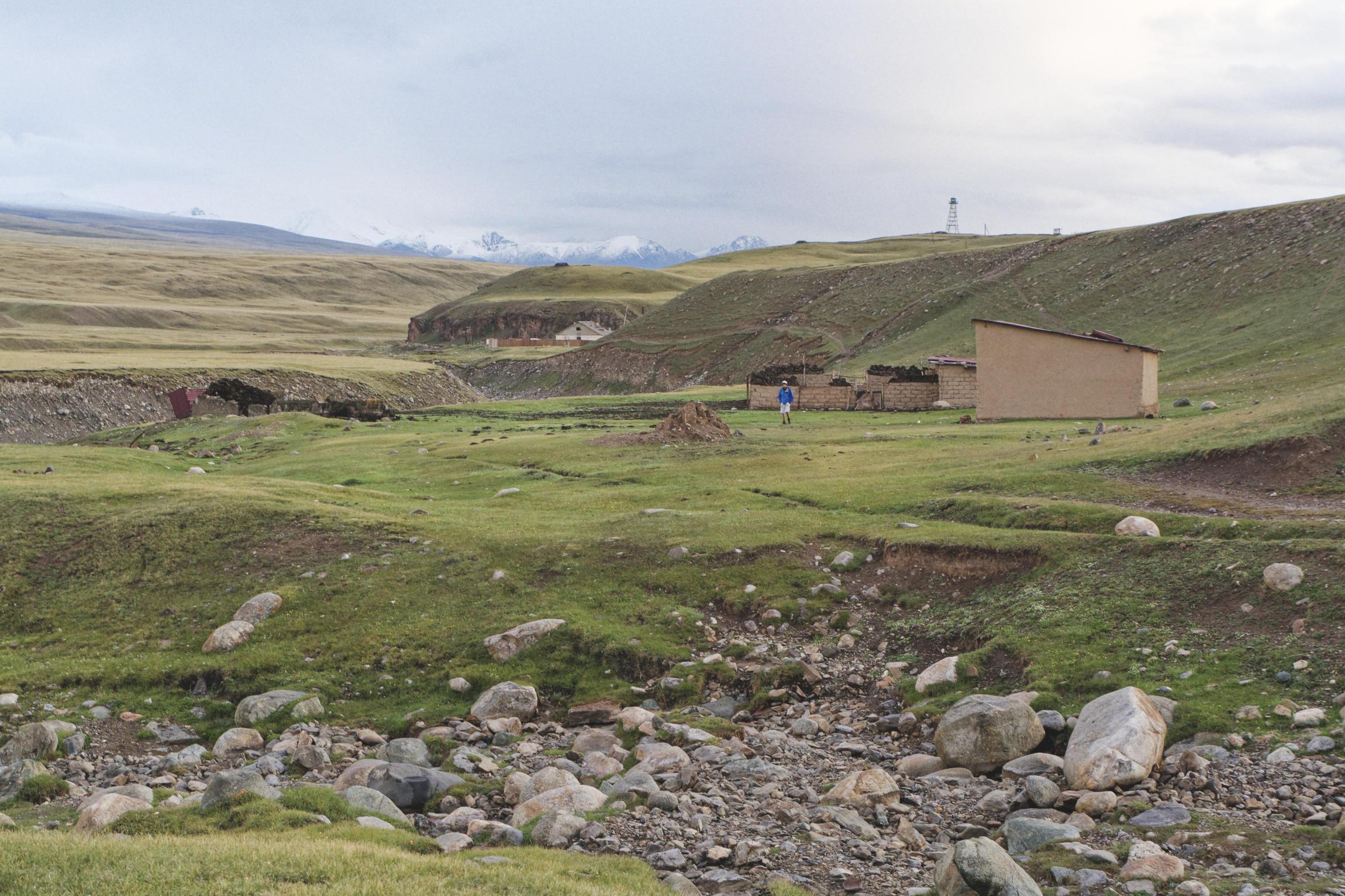 Eshkeli Tash Kirghizstan ancien sovkhoze