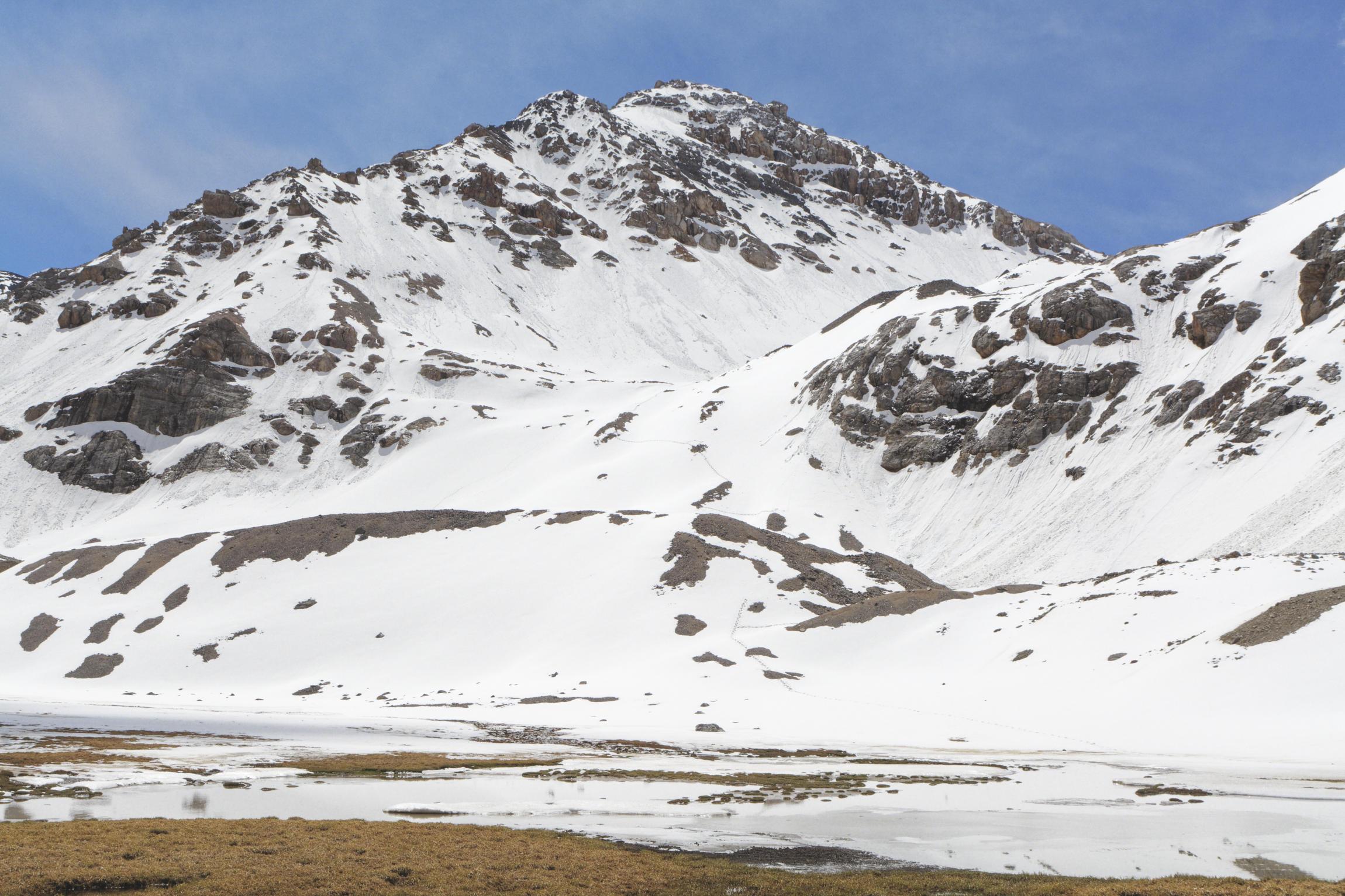 Vers le col de Tuz Kirghizstan
