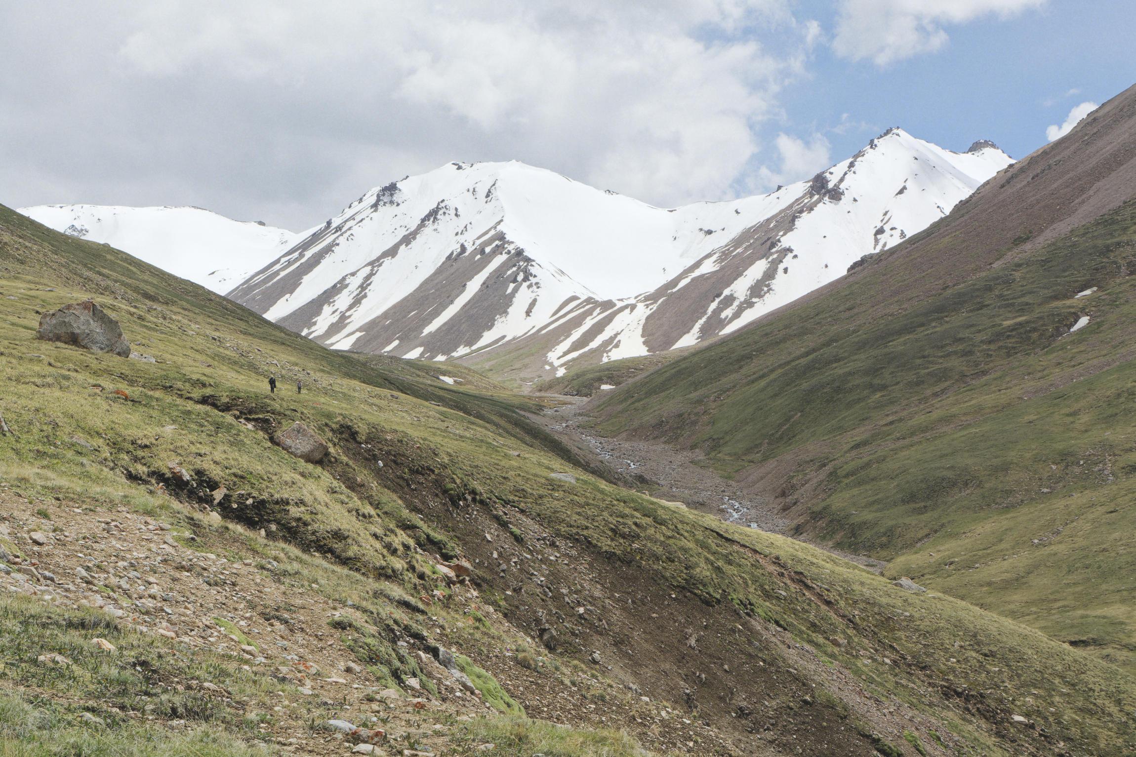 Trek dans la région de Sary Jaz Kirghizstan