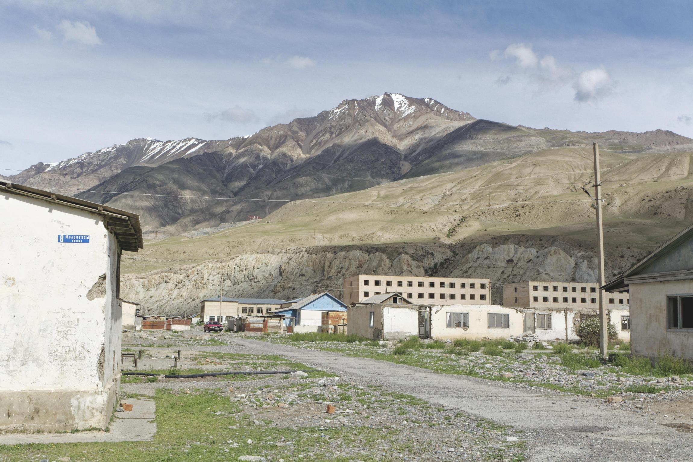 Ville d'Inylchek Kirghizstan