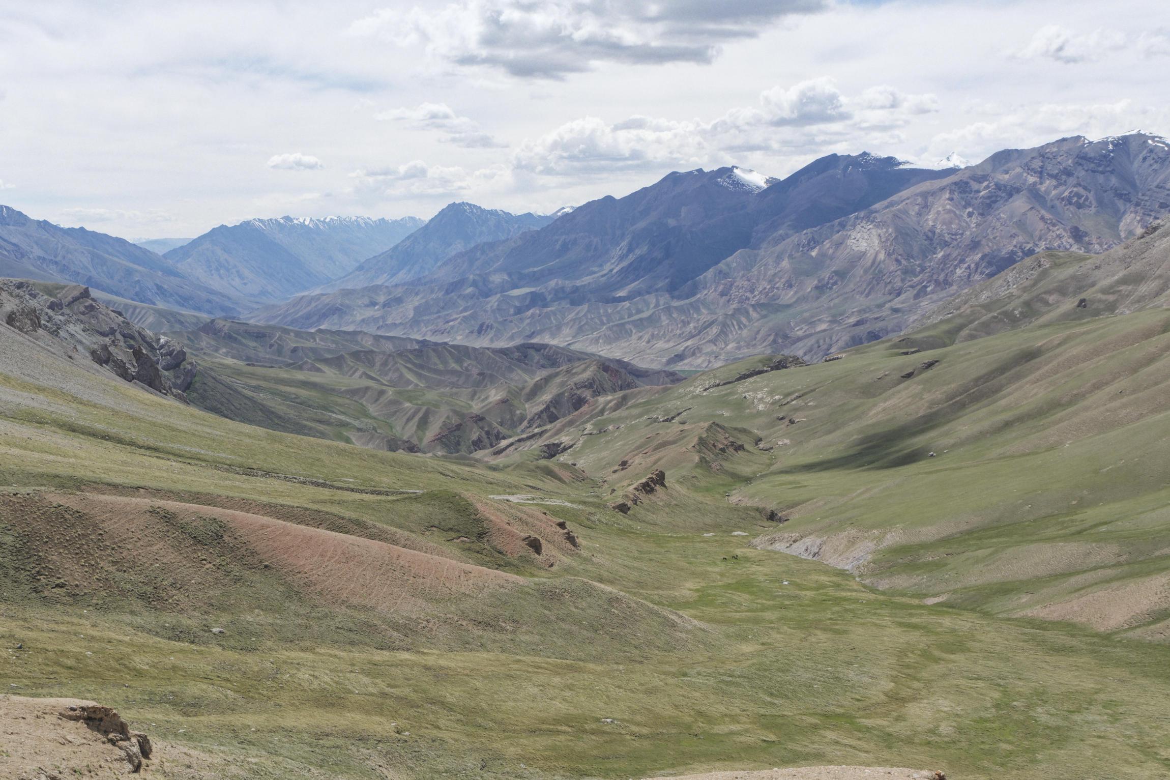Vallée de Kaindy Kirghizstan