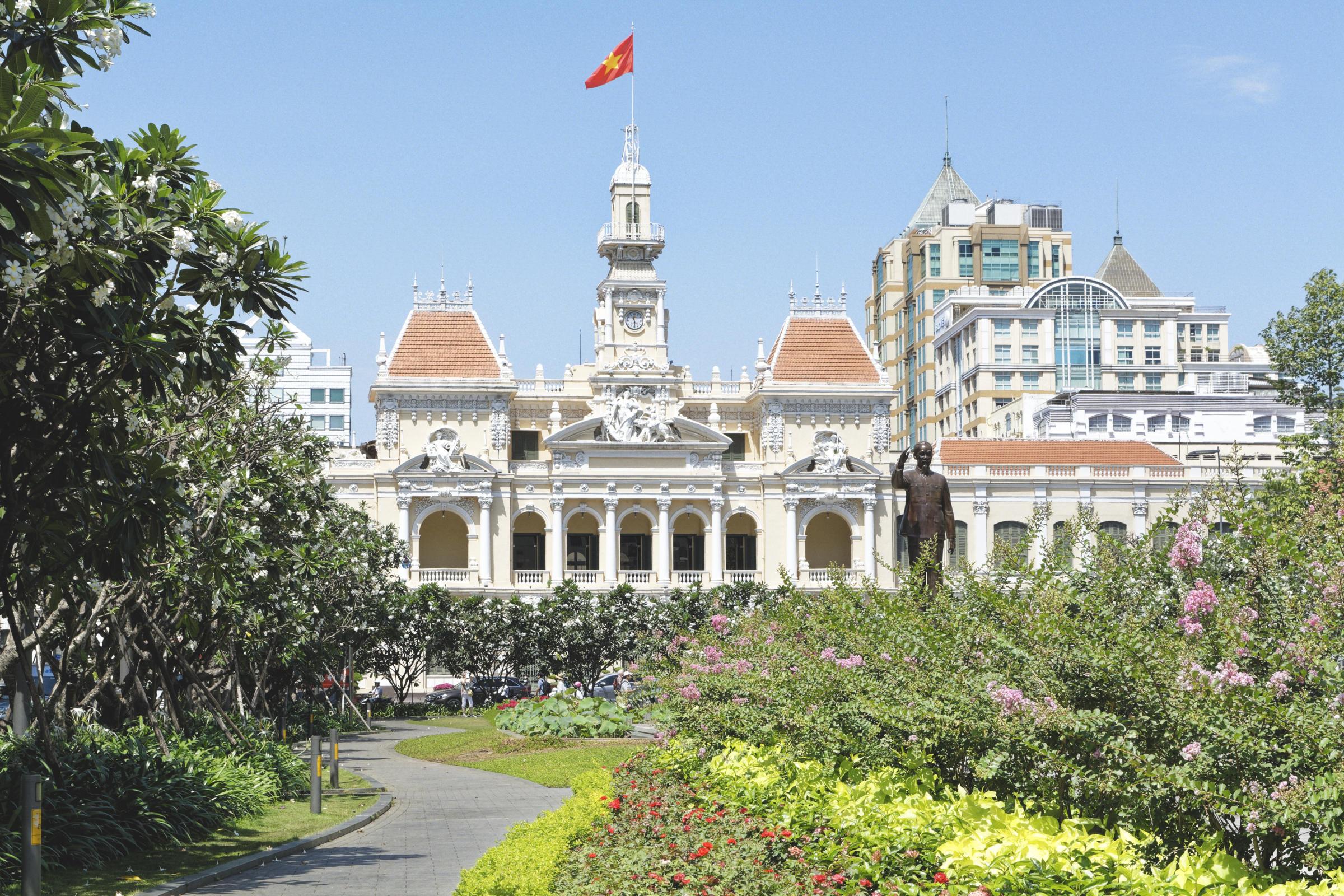 Ancien Hôtel de ville Hô Chi Minh Ville Saigon
