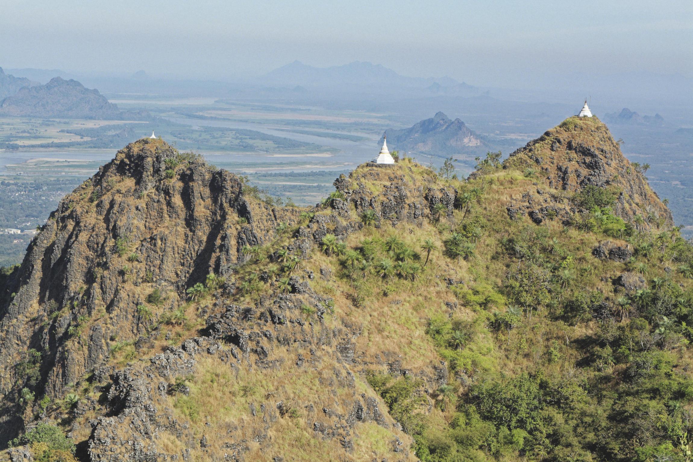 Vue depuis le mont Zwekabin