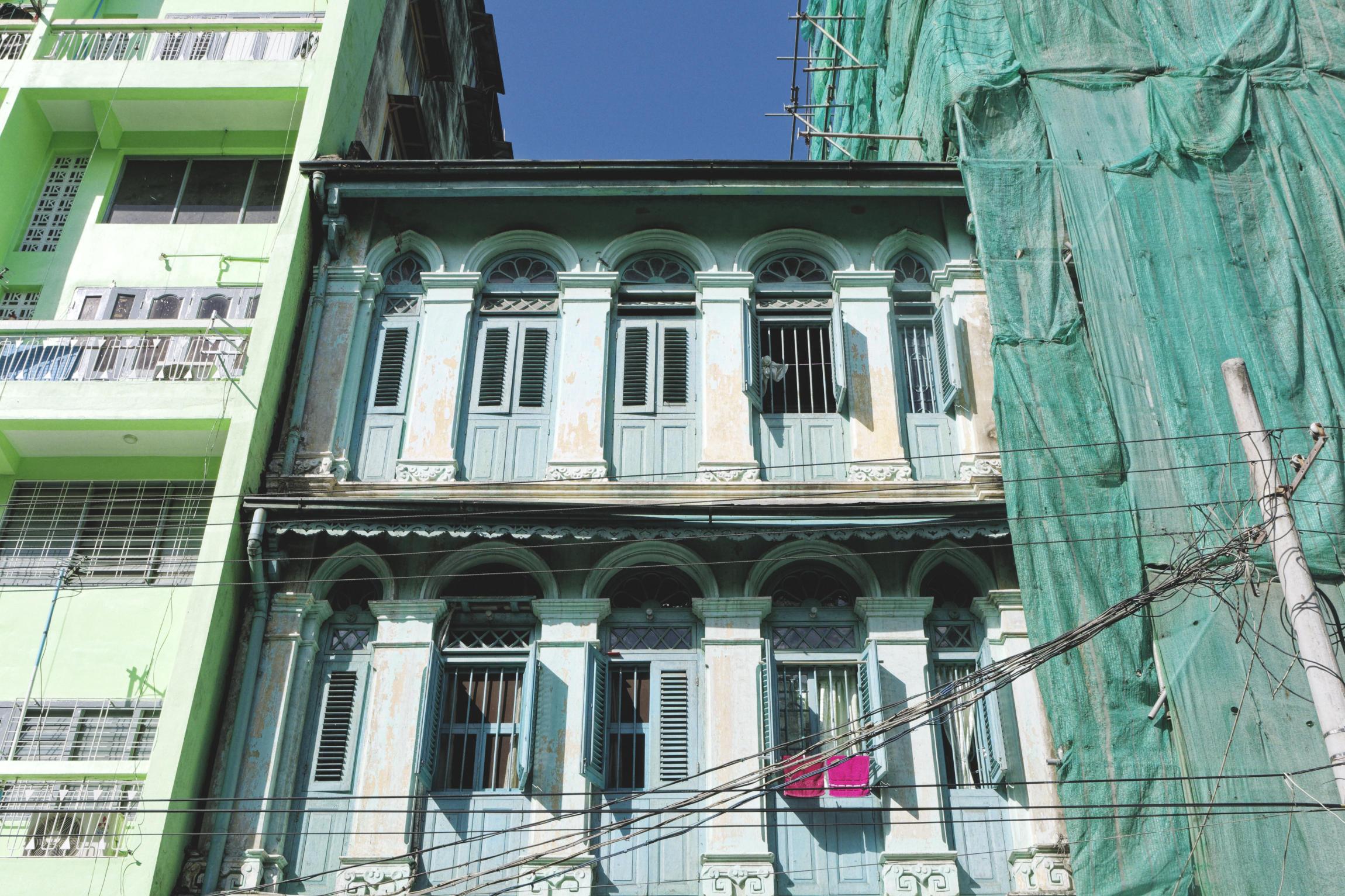 Bâtiment colonial Yangon