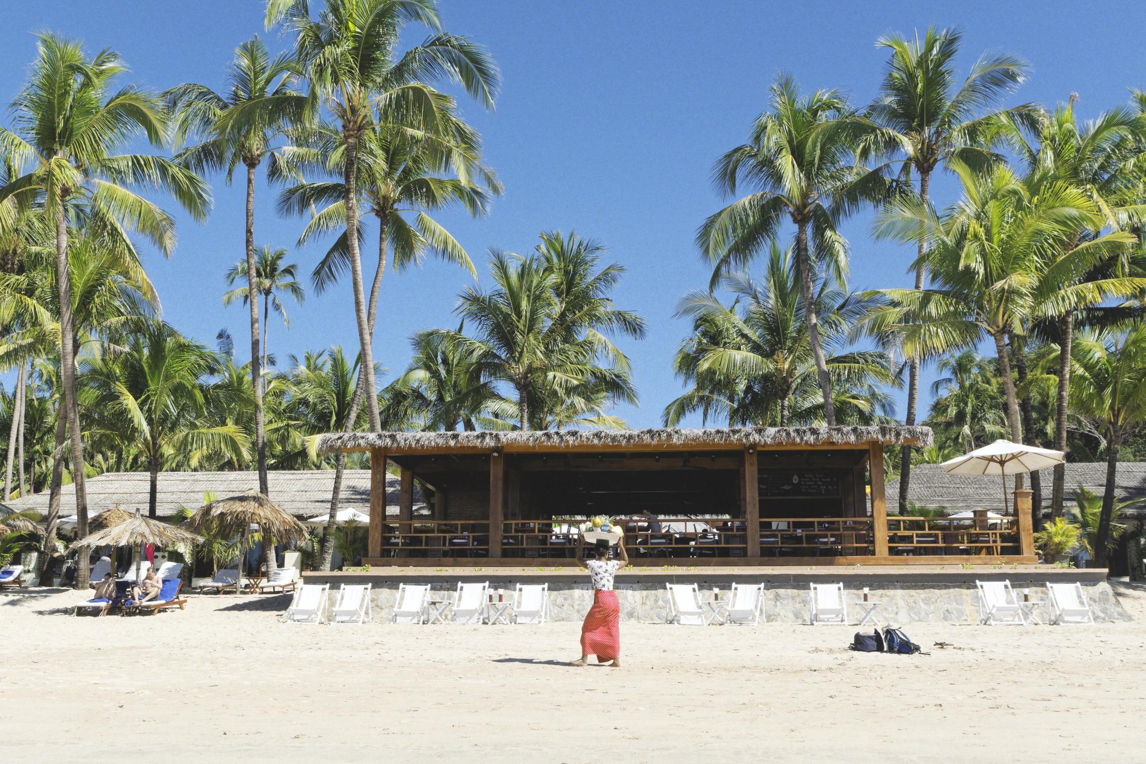 Ngapali vendeuse plage