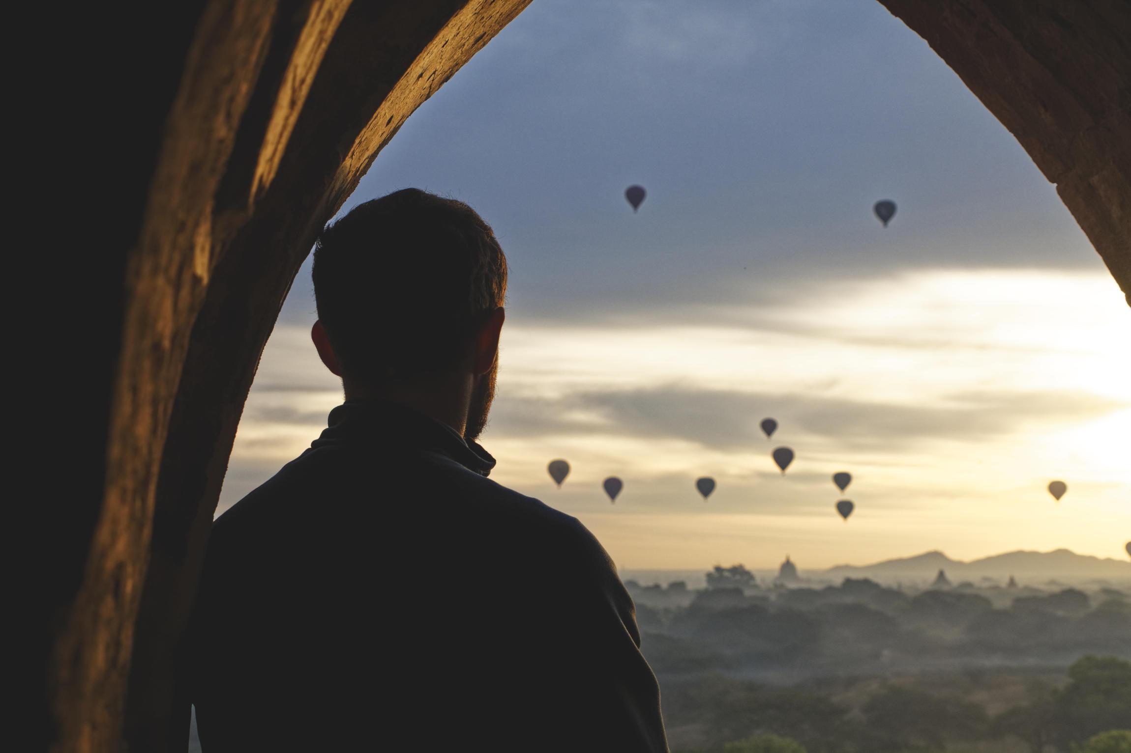 Montgolfières Bagan