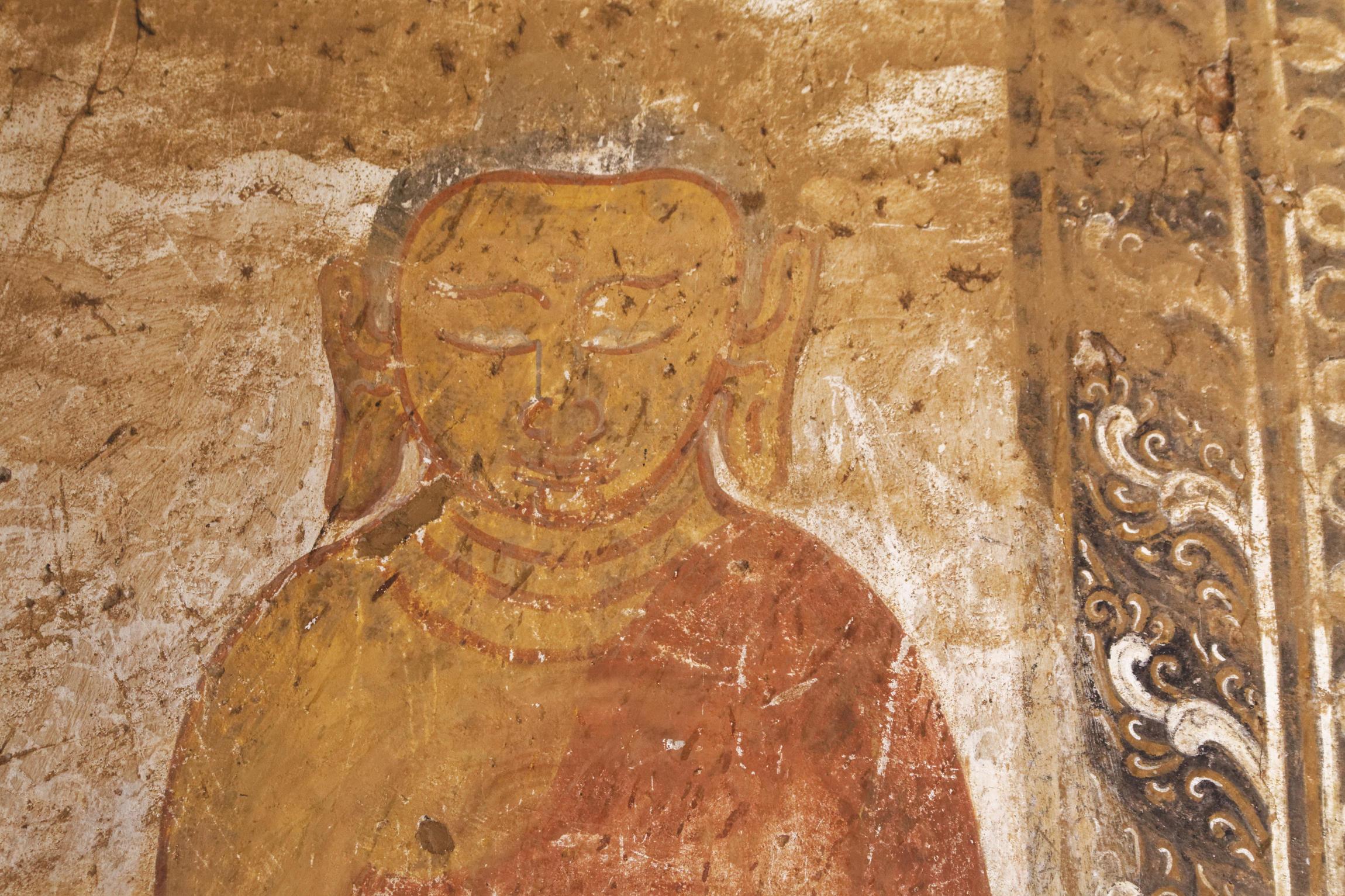 Peinture Bouddha Bagan