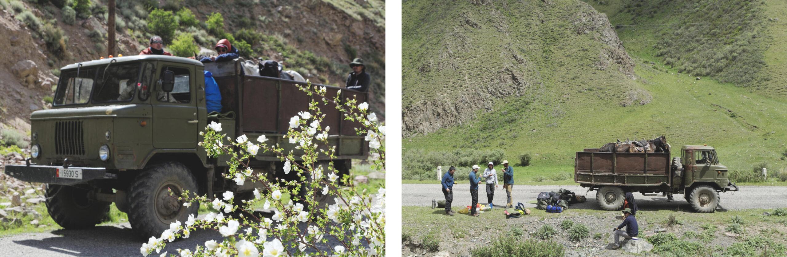 Camion Kirghizstan