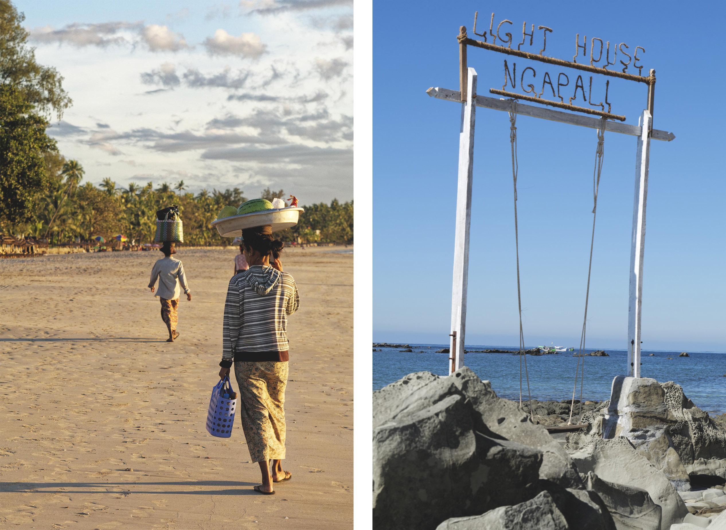 Ngapali vendeuses plage